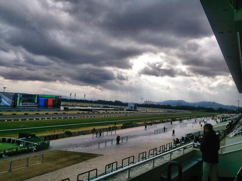 冬の京都競馬場