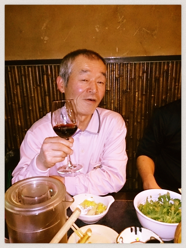 お祝いにまろやかなワイン入りました~