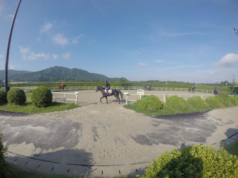 天気の良い日が続いている栗東
