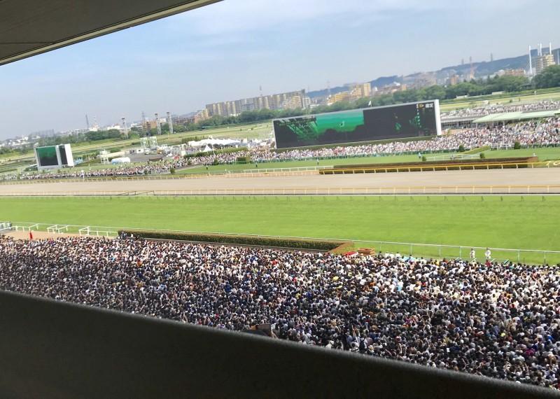11万人以上が来場した東京競馬場